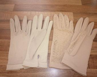 Two Pair of Ladies Vintage Gloves