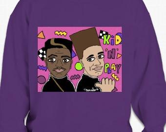 Ain't Gonna Hurt Nobody: Kid N Play Sweatshirts
