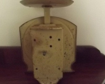 Vintage Persinware Cream Metal Scales