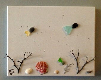 Under the Sea Pebble Art