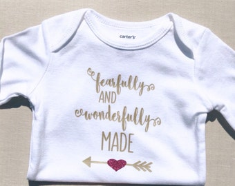 Baby Girl Clothes -Baby Girl-Baby Shower Gift-Newborn Girl Outfit-Cute Baby Clothes-Coming Home Outfit-Christian Baby Clothes