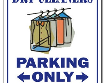 Dry Cleaning Sign Etsy