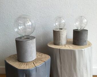 lamp concrete