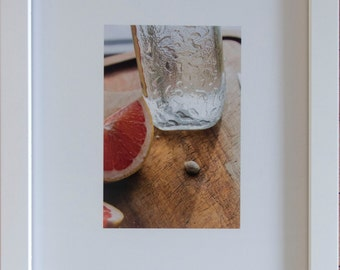 Still Life Photograph: Grapefruit Seed