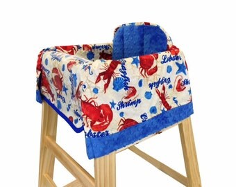 Rock Lobster High Chair Cover Restaurant