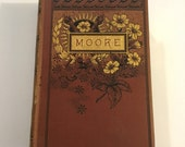 The Poetical Works of Thomas Moore, 19th Century Decoratively Bound Book