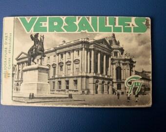 Vintage Versailles postcard set.