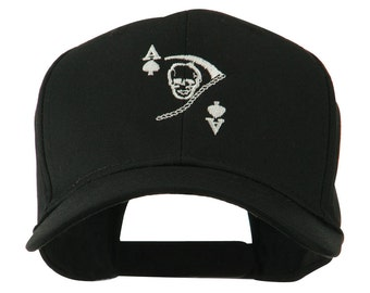 Ace of Death Vietnam War Emblem Embroidered Cap