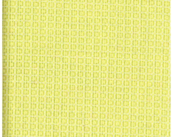 Fat Quarter, YL2181FQ, , 100% Cotton Fabric, Yellow and Green Broken Stripes, Great For Quilting, Crafts