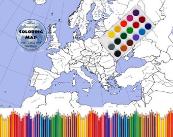 World Map Coloring Page Labeled World Map A And X Inch - World map labeled