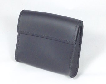 Large leather glove pouch