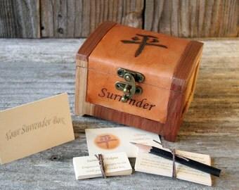 Surrender Box - Peace/god box/mindfulness/personal growth