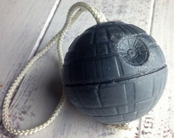 Death Star Soap-on-a-Rope (Glycerin)