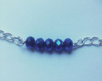 blue glow necklace