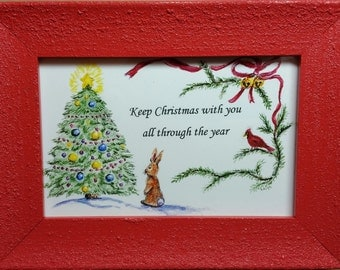 Keep Christmas with You, Matted 8x10 print