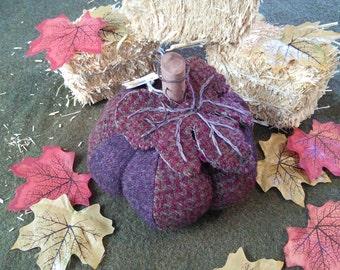 Fall Fabric Decoration Pumpkin
