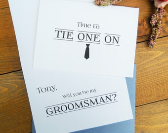 Will You BE MY GROOMSMAN Card, Will You Be My Groomsman, Will You Be My Groomsman Gift, Groomsmen Gift, Groomsman Invitation, Ask Groomsman