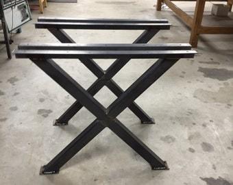 "28"" Xleg Table Legs (Set of 2)"