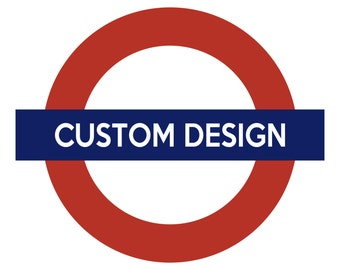 Customised Underground Design *Digital Download*