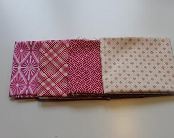 Fat quarter bundle fabric package pink No.. 3