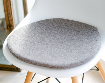 Chair cushions in taupe suitable for Eames Chair, limited
