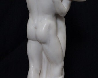 New gay double marble Sculture. 16 inches high.