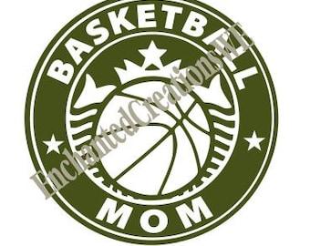 SVG file - Basketball Mom Coffee Cup
