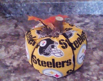 steelers fall pumpkin