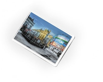 Magnet, Piccadilly Circus, Lights, London, UK, Gift