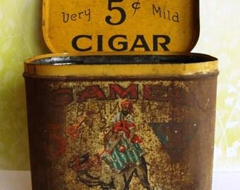 Vintage Camel Cigar Tin