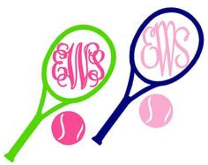Tennis Vinyl Decal