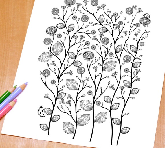 elegant printable adult coloring pages - photo#5