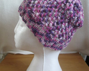 Fairy Random Coloured Handmade Crochet Beanie Hat.