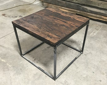Large end table 32x32x25