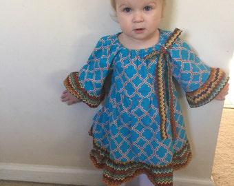 Toddler girls dress - size 2T