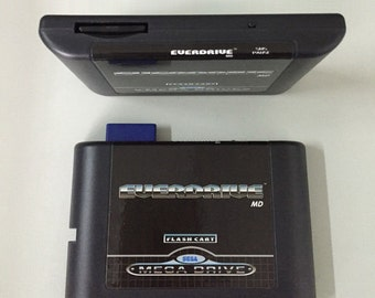 EverDrive MD Game Cartridge for Sega MegaDrive/Genesis + 8 GB SD Card With 1000+ Games