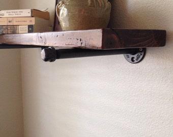 Custom Rustic Shelves