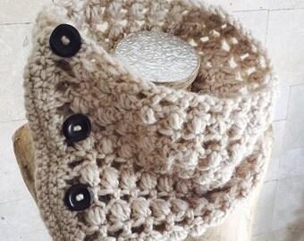 Scarf , Chunky Scarf , Infinity Scarf , Crochet  Cowl , Circular Scarf Wrap , Women Scarf , Winter Accessories, Neck Warmer, Warm Outerwear