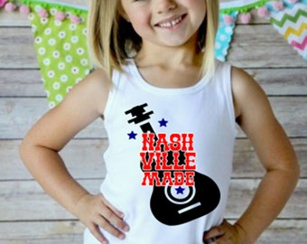 Nashville Made, Country Girl Tank, Nashville Country Music, Nashvegas, Grand Ole' Opry, Tennessee Pride, TN Made, Country Living, Tank
