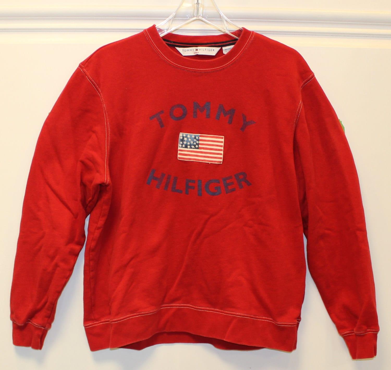 tommy hilfiger tommy jeans vintage sweatshirt pullover. Black Bedroom Furniture Sets. Home Design Ideas