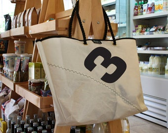 Recycled Sailcloth Large Shopper