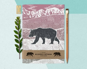 A5 Bear Notebook