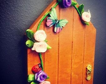 Fairy Door Kit - Fairy Garden Door - Fairy Door - Fairy Garden Kit - Fairy Garden Accessories - Wooden Fairy Door - Indoor Fairy Door Kit