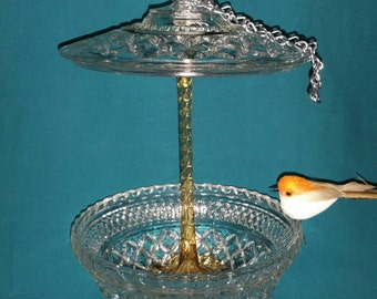 Candy Dish Bird Feeder
