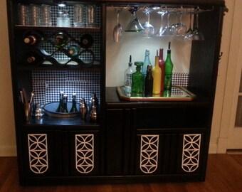 Beautiful DIY bar