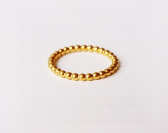 Ring 'Pearl' gold