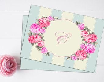 Printable Elegant Personalized Stationary (DIGITAL FILE)