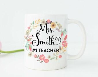 Teacher Gifts Teacher Appreciation Gift Teacher Mugs Personalized Teacher Gift Gifts for Teachers Professor Gifts Custom Teacher Gifts T4