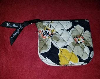 Nice Dogwood Vera Bradley coin purse 4 by 4! Very pretty! Gently used!