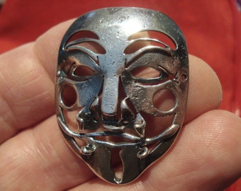 Mask inspired by Anonymus